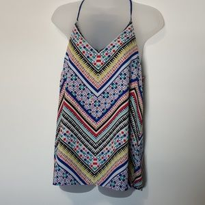 Maurices Multi Color Tank Top S